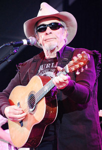 Merle Haggard performing in Tennessee in 2009. Photo: Creative Commons